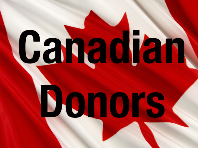 CANADA FLAG DONATIONS