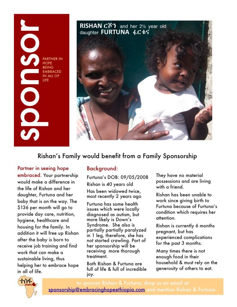 Furtuna and Rishan family sponsorship
