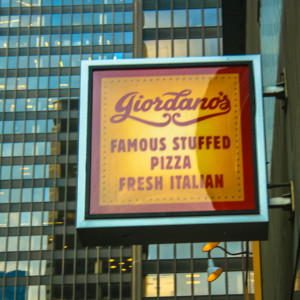 Dishing up the best Pizza on earth.  Giordanos Chicago Style.