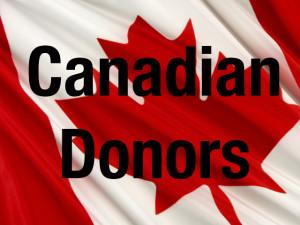 CANADA FLAG DONATIONS